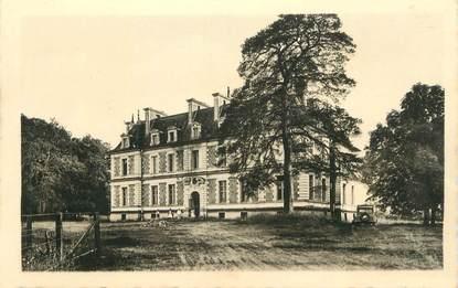 """CPA FRANCE 58 """"Tintury, Le château""""."""