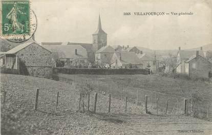 """CPA FRANCE 58 """"Villapourçon, Vue générale""""."""