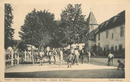 """CPA FRANCE 58 """"Varzy, Le vieux château, colonie de vacances""""."""
