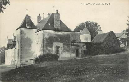 """CPA FRANCE 58 """"Onlay, Manoir de Tard""""."""