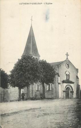 "CPA FRANCE 58 ""Luthenay - Uxeloup, L'église""."