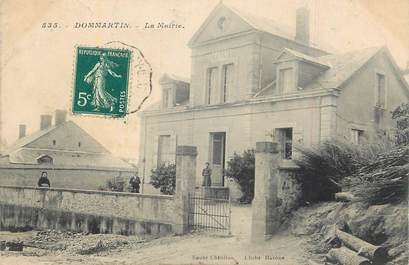 "CPA FRANCE 58 ""Dommartin, La Mairie""."