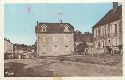 """CPA FRANCE 58 """"Chevannes Changy, La place, la Mairie""""."""