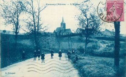 "CPA FRANCE 58 ""Corancy, L'église""."