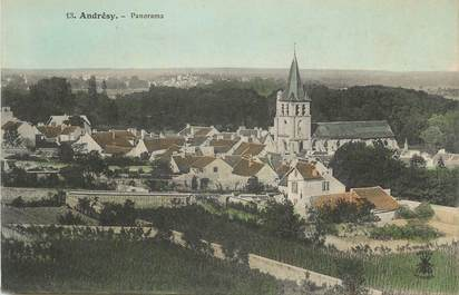 """CPA FRANCE 78 """" Andrésy, Panorama""""."""