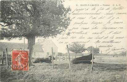 """CPA FRANCE 78 """" Marly le Roi, Une ferme""""."""
