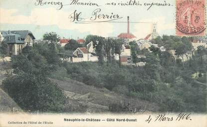 "CPA FRANCE 78 "" Neauphle le Château""."