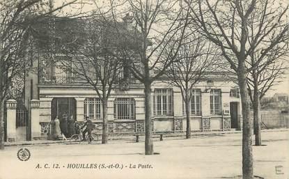"""CPA FRANCE 78 """" Houilles, La Poste""""."""