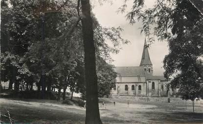 """CPSM FRANCE 78 """" Chatou, Le square et l'église""""."""