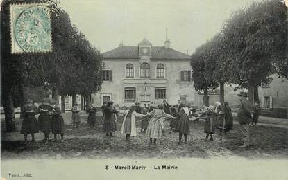 "CPA FRANCE 78 "" Mareil Marly, La Mairie""."