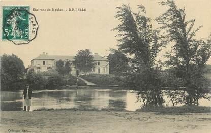 "CPA FRANCE 78 "" Environs de Meulan, Ile Belle""."