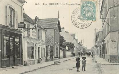 "CPA FRANCE 78 ""Les Mureaux, Grande Rue""."