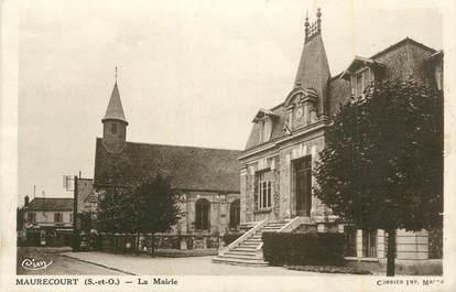 "CPA FRANCE 78 ""Maurecourt, La Mairie""."