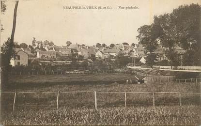 """CPA FRANCE 78 """"Neauphle le Vieux, Vue générale""""."""