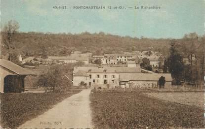 """CPA FRANCE 78 """"Pontchartrain, La Richardière""""."""