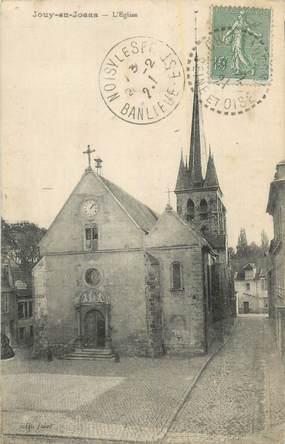 """CPA FRANCE 78 """"Jouy en Josas, L'église""""."""