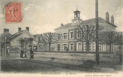 """CPA FRANCE 78 """"Flins sur Seine, La Mairie""""."""