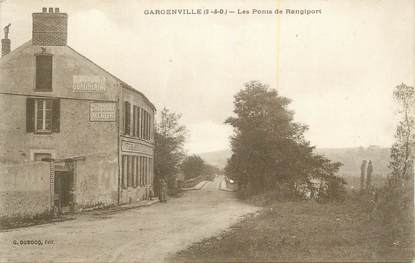 "CPA FRANCE 78 ""Gargenville, Les ponts de Rangiport""."