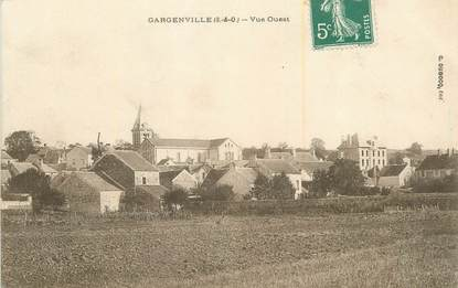 """CPA FRANCE 78 """"Gargenville""""."""