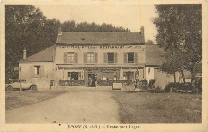 "CPA FRANCE 78 ""Epone, Restaurant Leger""."