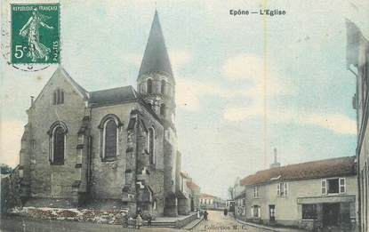 "CPA FRANCE 78 ""Epone, L'église""."