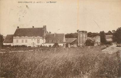 "CPA FRANCE 78 ""Grosrouvre, Le manoir""."