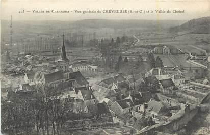 """CPA FRANCE 78 """" Chevreuse, Vue générale""""."""