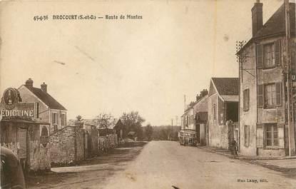 """CPA FRANCE 78 """" Drocourt, Route de Mantes"""""""