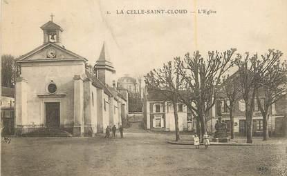 """CPA FRANCE 78 """"La Celle St Cloud, L'église""""."""