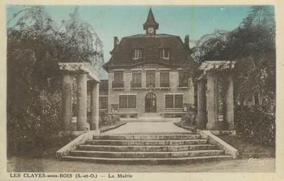 """CPA FRANCE 78 """"Les Clayes sous Bois, La Mairie""""."""