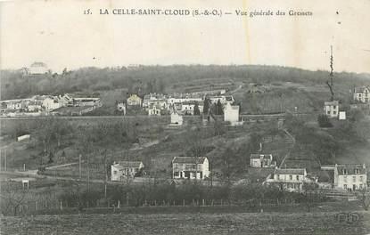 """CPA FRANCE 78 """"La Celle St Cloud, Vue générale des Gressets""""."""