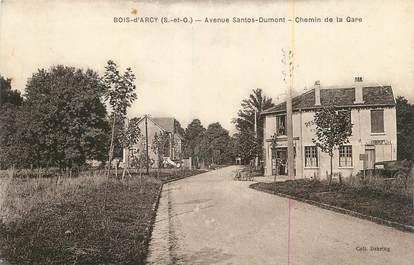 """CPA FRANCE 78 """"Bois d'Arcy, Avenue Santos Dumont, chemin de la gare""""."""
