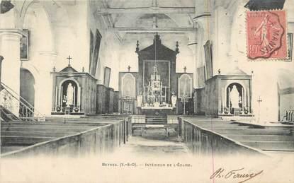 """CPA FRANCE 78 """"Beynes, Intérieur de l'église"""".."""