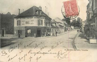 """CPA FRANCE 78 """"Buc, La grande rue""""."""