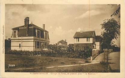 """CPA FRANCE 78 """"Elisabethville, Groupe de villas """"."""