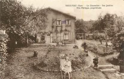 """CPA FRANCE 27 """" Vieux Port, La chaumière """"."""