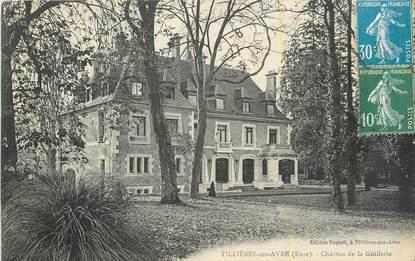 """CPA FRANCE 27 """"Tillières sur Avre, Château de la Guillerie""""."""