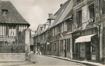 """CPSM FRANCE 27 """"Thiberville, Rue Paul Labbé""""."""