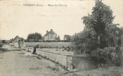 "CPA FRANCE 27 "" Tourny, Mare du Chenay""."