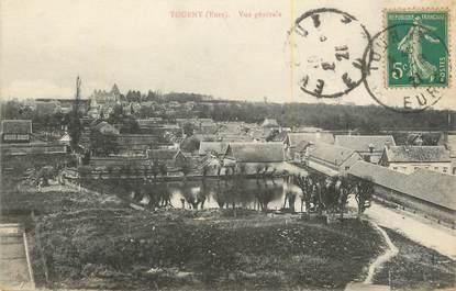 """CPA FRANCE 27 """" Tourny, Vue générale""""."""