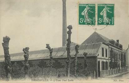 """CPA FRANCE 27 """" Thiberville, L'usine Paul Labbé""""."""