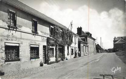 """CPSM FRANCE 27 """" Thuit - Signol, Rue principale, la boulangerie""""."""