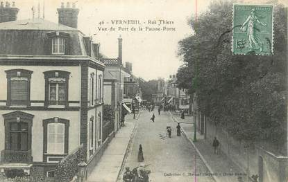 "CPA FRANCE 27 "" Verneuil, Rue Thiers'."
