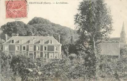 """CPA FRANCE 27 """" Vraiville, Le château""""."""