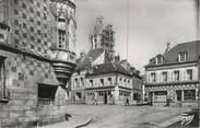 """27 Eure CPSM FRANCE 27 """" Verneuil sur Avre, Rue Aristide Briand et Maison du XVIème siècle rue du Canon""""."""