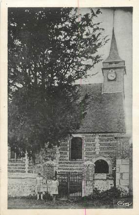 """CPA FRANCE 27 """" Tostes, L'église""""."""
