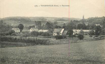 "CPA FRANCE 27 "" Tourneville, Panorama""."
