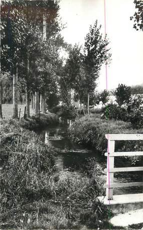 """CPSM FRANCE 27 """" Toufreville, Le Pont Cordier""""."""