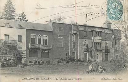"""CPA FRANCE 27 """" Environs de Bernay, Les Château des Trois Vals""""."""