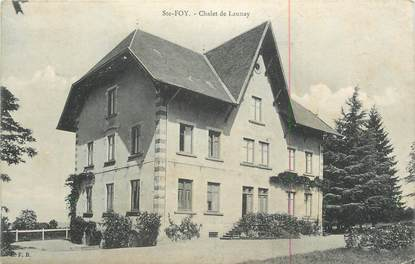 "CPA FRANCE 27 "" Ste Foy, Chalet de Launay""."